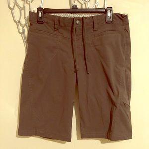 Athleta Dark Gray Dipper Bermuda Shorts